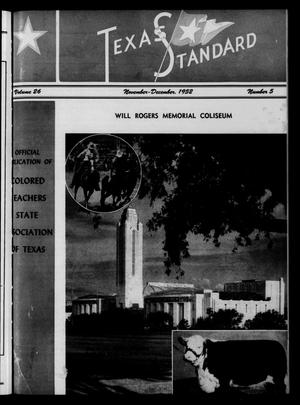 Primary view of object titled 'The Texas Standard, Volume 26, Number 5, November-December 1952'.