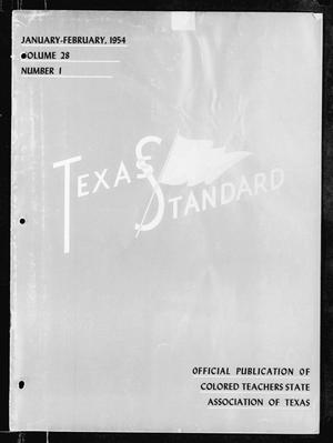 Primary view of object titled 'The Texas Standard, Volume 28, Number 1, January-February 1954'.