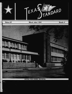 The Texas Standard, Volume 28, Number 2, March-April 1954