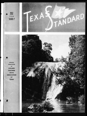 Primary view of object titled 'The Texas Standard, Volume 28, Number 3, May-June 1954'.