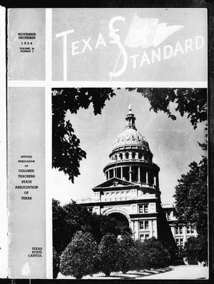 Primary view of object titled 'The Texas Standard, Volume 28, Number 5, November-December 1954'.