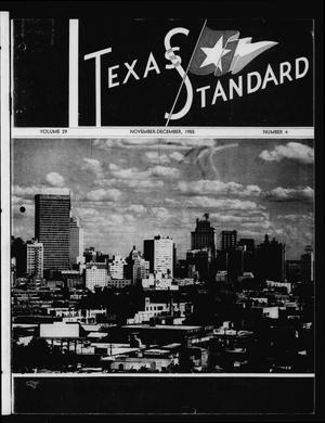 Primary view of object titled 'The Texas Standard, Volume 29, Number 4, November-December 1955'.