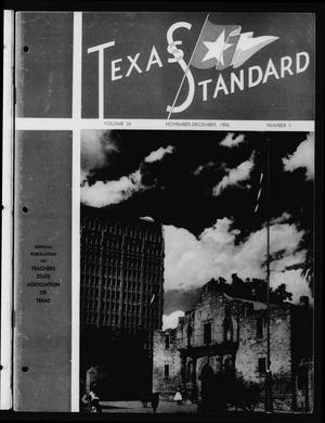 Primary view of object titled 'The Texas Standard, Volume 30, Number 4, November-December 1956'.