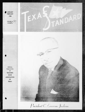 Primary view of object titled 'The Texas Standard, Volume [32], Number [1], January-February 1958'.