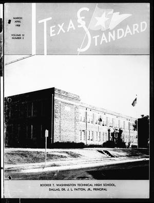 Primary view of object titled 'The Texas Standard, Volume 32, Number 2, March-April 1958'.