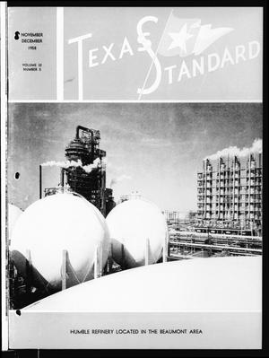 Primary view of object titled 'The Texas Standard, Volume 32, Number 5, November-December 1958'.