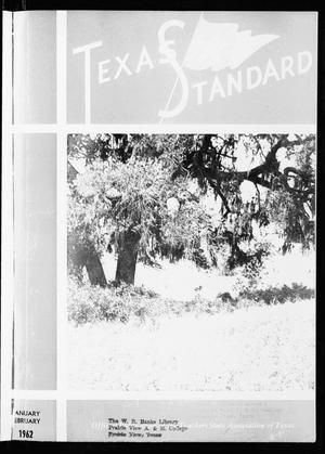 Primary view of object titled 'The Texas Standard, Volume 36, Number 1, Jaunuary-February 1962'.