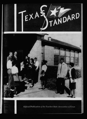 Primary view of object titled 'The Texas Standard, Volume 36, Number 2, March-April 1962'.