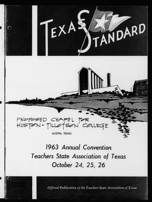 Primary view of object titled 'The Texas Standard, Volume 37, Number 4, September-October 1963'.