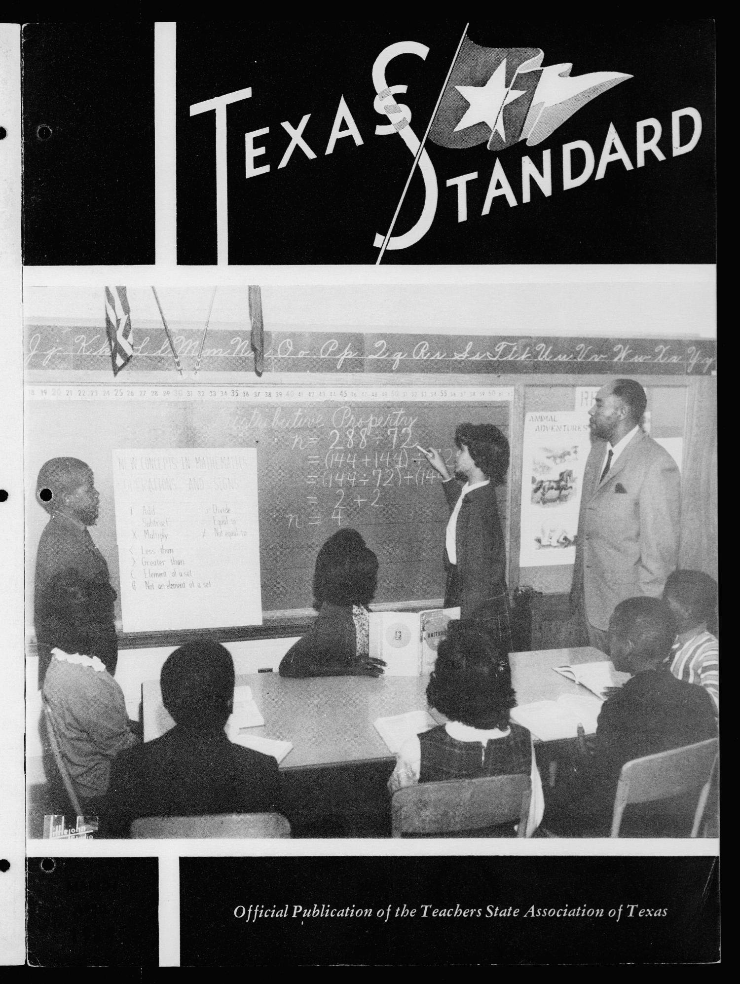 The Texas Standard, Volume [38], Number [2], March-April 1964                                                                                                      Front Cover