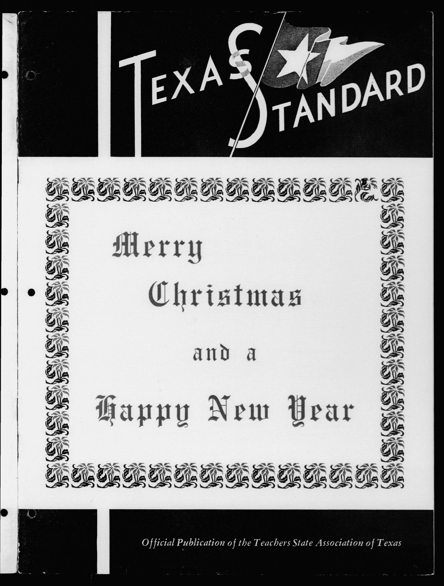 The Texas Standard, Volume [38], Number [5], November-December 1964                                                                                                      Front Cover