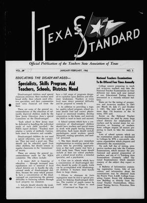 Primary view of object titled 'The Texas Standard, Volume [39], Number [1], January-February 1965'.