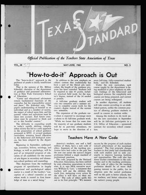 The Texas Standard, Volume [39], Number [3], May-June 1965
