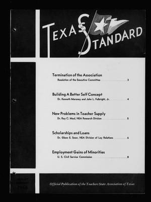 Primary view of object titled 'The Texas Standard, Volume [40], Number [1], January-February 1966'.