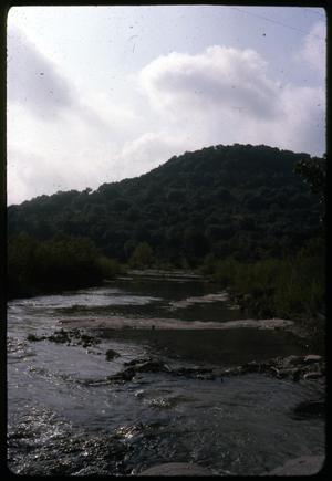Primary view of object titled '[Mountainside and Creek in Daylight]'.