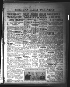Sherman Daily Democrat (Sherman, Tex.), Vol. 40, No. 19, Ed. 1 Tuesday, August 17, 1920