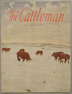 "Primary view of object titled '[""The Cattleman"" December 1929]'."