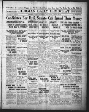 Primary view of Sherman Daily Democrat (Sherman, Tex.), Vol. 41, No. 262, Ed. 1 Wednesday, May 10, 1922