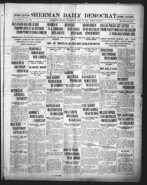 Primary view of object titled 'Sherman Daily Democrat (Sherman, Tex.), Vol. 41, No. 269, Ed. 1 Thursday, May 18, 1922'.