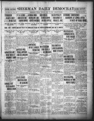 Primary view of object titled 'Sherman Daily Democrat (Sherman, Tex.), Vol. 41, No. 270, Ed. 1 Friday, May 19, 1922'.
