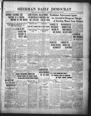Primary view of object titled 'Sherman Daily Democrat (Sherman, Tex.), Vol. 41, No. 292, Ed. 1 Sunday, June 11, 1922'.