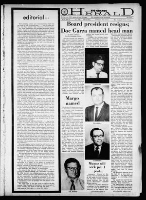 Primary view of object titled 'Rio Grande Herald (Rio Grande City, Tex.), Vol. 21, No. 42, Ed. 1 Thursday, October 19, 1972'.