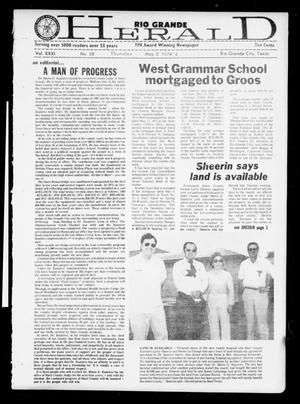 Primary view of object titled 'Rio Grande Herald (Rio Grande City, Tex.), Vol. 32, No. 28, Ed. 1 Thursday, May 2, 1974'.