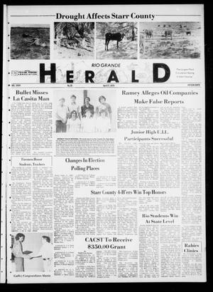 Primary view of object titled 'Rio Grande Herald (Rio Grande City, Tex.), Vol. 35, No. 28, Ed. 1 Thursday, April 27, 1978'.