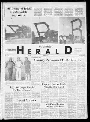 Primary view of object titled 'Rio Grande Herald (Rio Grande City, Tex.), Vol. 35, No. 35, Ed. 1 Thursday, June 15, 1978'.
