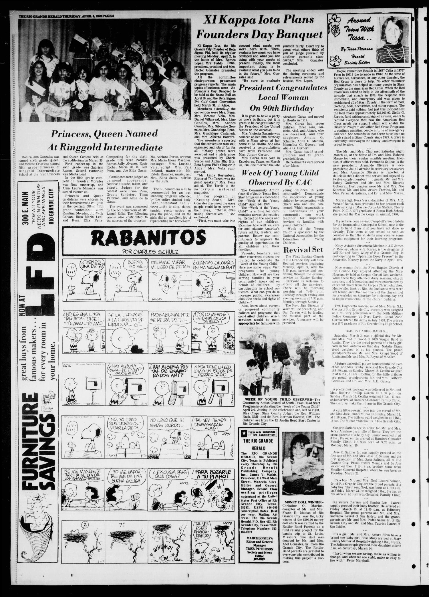 Rio Grande Herald Rio Grande City Tex Vol 35 No 77 Ed 1