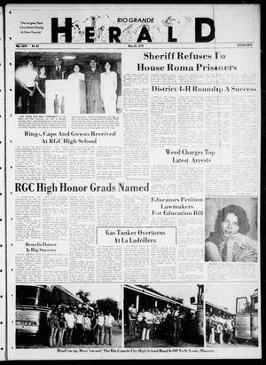 Primary view of object titled 'Rio Grande Herald (Rio Grande City, Tex.), Vol. 35, No. 82, Ed. 1 Thursday, May 10, 1979'.