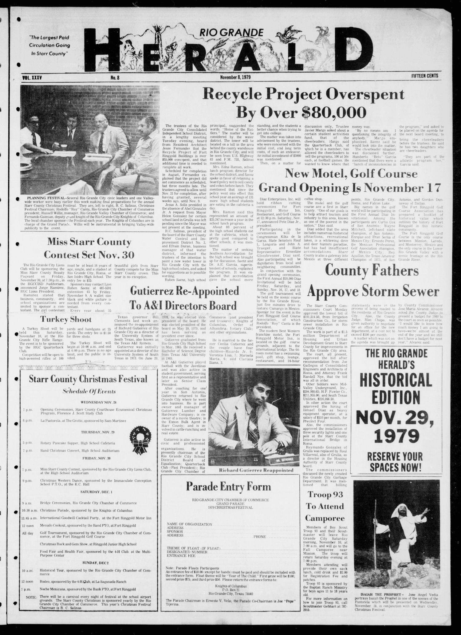 Rio Grande Herald (Rio Grande City, Tex.), Vol. 35, No. 8, Ed. 1 ...
