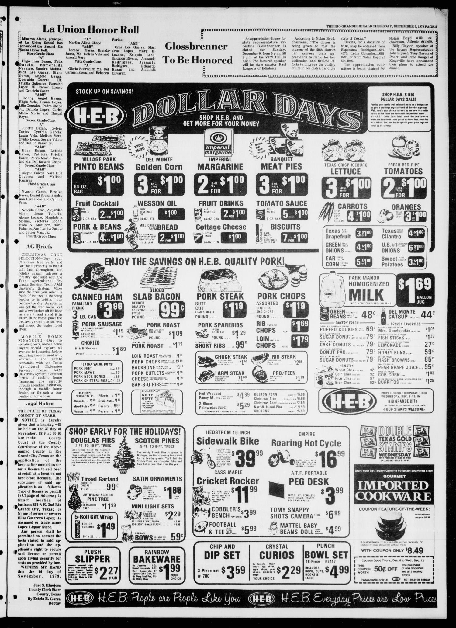 Rio Grande Herald (Rio Grande City, Tex.), Vol. 35, No. 12, Ed. 1 ...