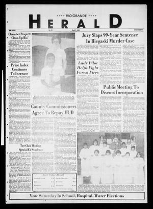 Primary view of object titled 'Rio Grande Herald (Rio Grande City, Tex.), Vol. 35, No. 81, Ed. 1 Thursday, April 2, 1981'.