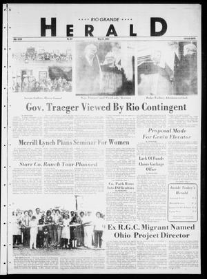 Primary view of object titled 'Rio Grande Herald (Rio Grande City, Tex.), Vol. 35, No. 87, Ed. 1 Thursday, May 14, 1981'.