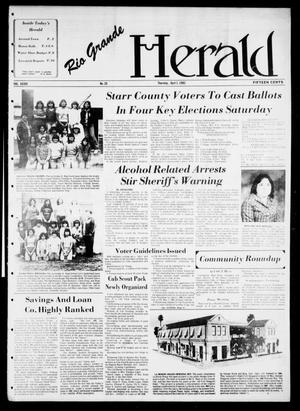 Primary view of object titled 'Rio Grande Herald (Rio Grande City, Tex.), Vol. 36, No. 25, Ed. 1 Thursday, April 1, 1982'.