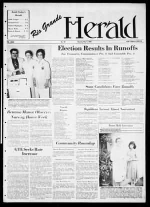 Primary view of object titled 'Rio Grande Herald (Rio Grande City, Tex.), Vol. 36, No. 30, Ed. 1 Thursday, May 6, 1982'.