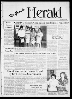 Primary view of object titled 'Rio Grande Herald (Rio Grande City, Tex.), Vol. 36, No. 35, Ed. 1 Thursday, June 10, 1982'.