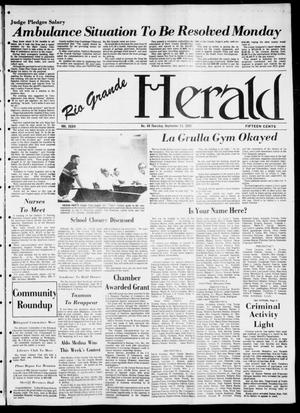Primary view of object titled 'Rio Grande Herald (Rio Grande City, Tex.), Vol. 36, No. 49, Ed. 1 Thursday, September 23, 1982'.