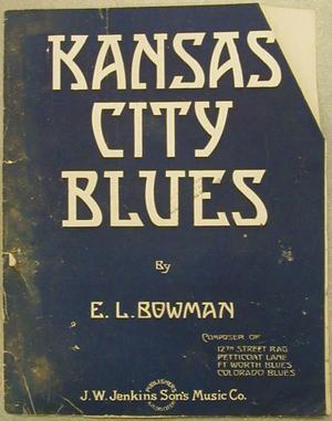 "[""Kansas City Blues"" sheet music]"