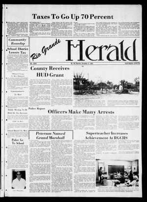 Primary view of object titled 'Rio Grande Herald (Rio Grande City, Tex.), Vol. 36, No. 60, Ed. 1 Thursday, December 9, 1982'.