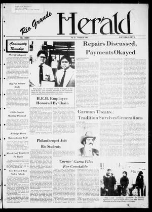 Primary view of object titled 'Rio Grande Herald (Rio Grande City, Tex.), Vol. 38, No. 15, Ed. 1 Thursday, February 9, 1984'.