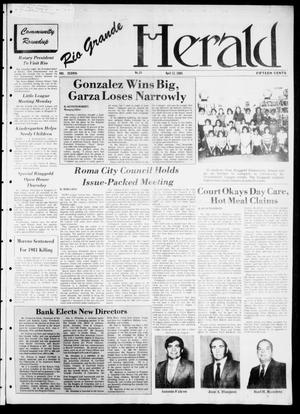 Primary view of object titled 'Rio Grande Herald (Rio Grande City, Tex.), Vol. 38, No. 24, Ed. 1 Thursday, April 12, 1984'.