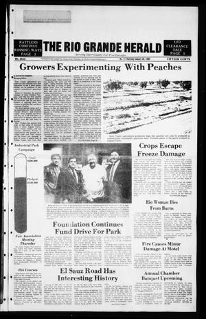 The Rio Grande Herald (Rio Grande City, Tex.), Vol. 39, No. 11, Ed. 1 Thursday, January 10, 1985