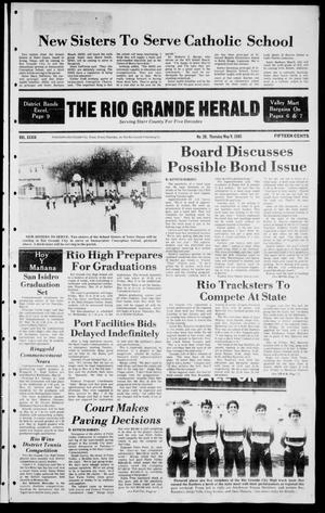 Primary view of object titled 'The Rio Grande Herald (Rio Grande City, Tex.), Vol. 39, No. 28, Ed. 1 Thursday, May 9, 1985'.