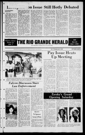 The Rio Grande Herald (Rio Grande City, Tex.), Vol. 39, No. 37, Ed. 1 Thursday, July 18, 1985