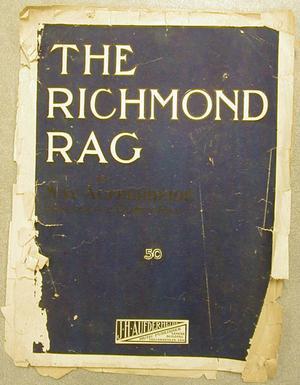 """[""""The Richmond Rag"""" sheet music]"""