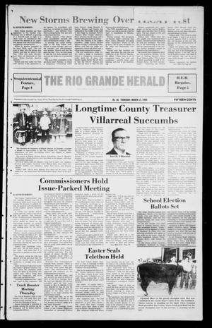 Primary view of object titled 'The Rio Grande Herald (Rio Grande City, Tex.), Vol. 40, No. 20, Ed. 1 Thursday, March 13, 1986'.