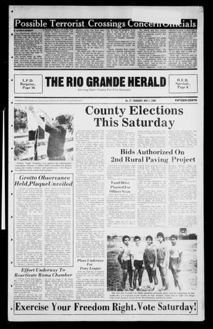 Primary view of object titled 'The Rio Grande Herald (Rio Grande City, Tex.), Vol. 40, No. 27, Ed. 1 Thursday, May 1, 1986'.