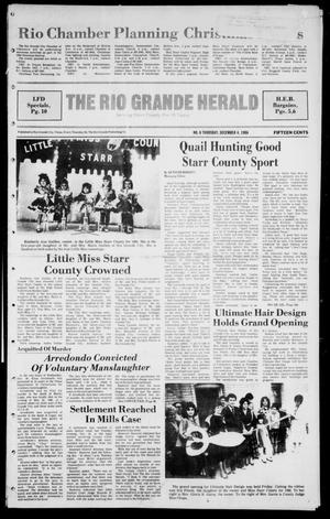 The Rio Grande Herald (Rio Grande City, Tex.), Vol. 41, No. 6, Ed. 1 Thursday, December 4, 1986
